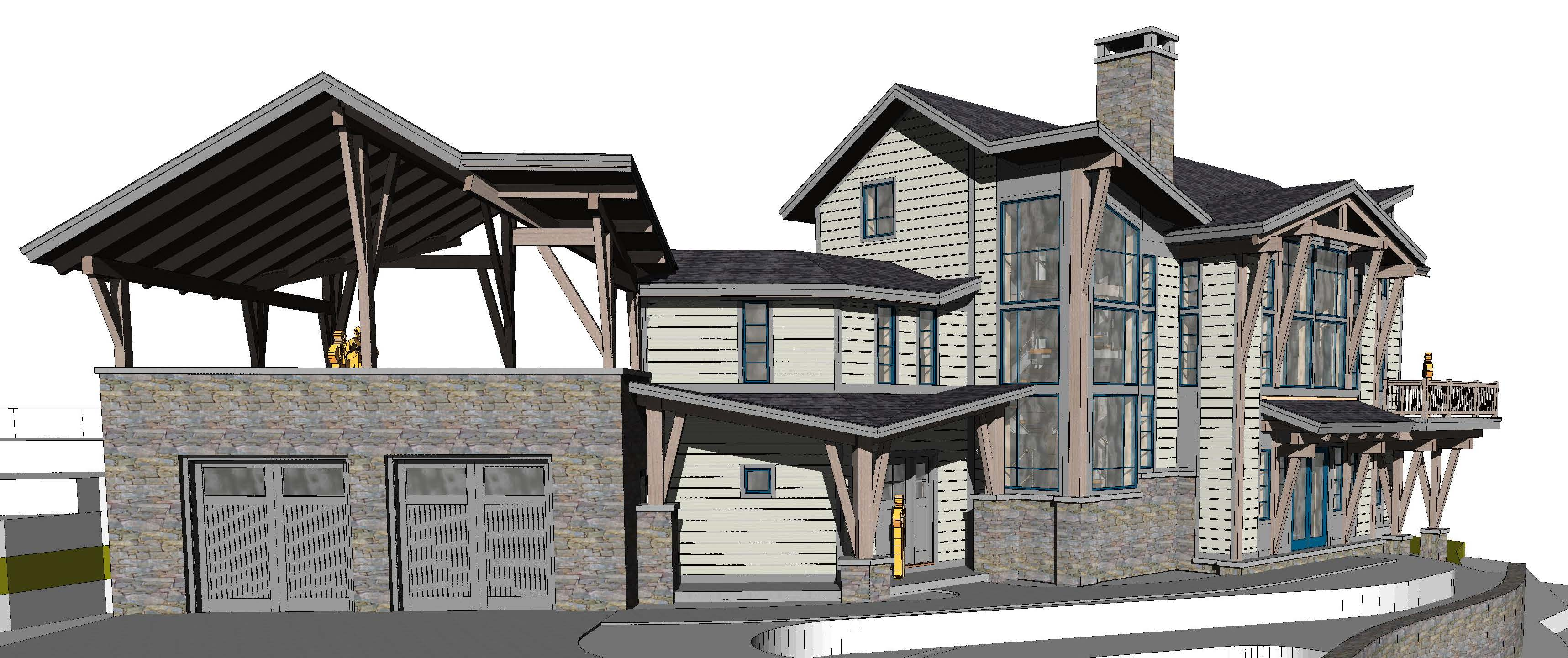 Ski lodge style house plans escortsea for Lodge style floor plans
