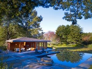 polynesian pool house
