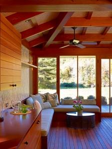 pool house interiors