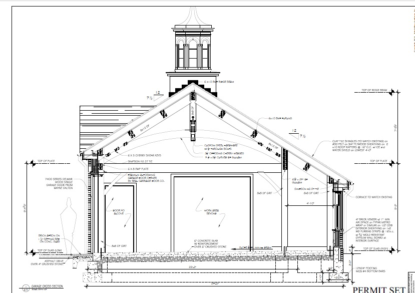 Garages and barns the building cycle A frame barn plans