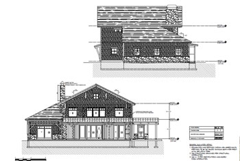 lake house elevations