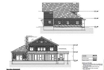 lake house elevations