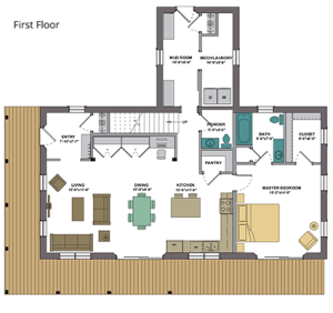 varm first floor plan