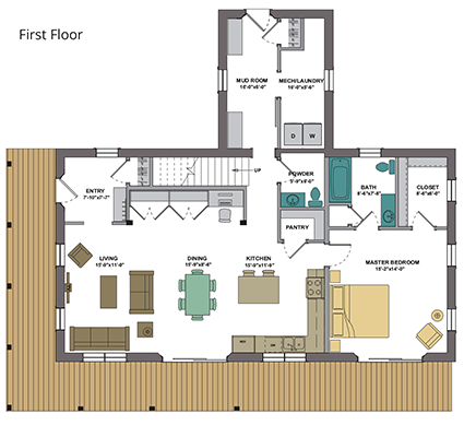 varm first floor plan