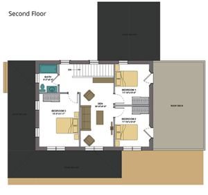 varm second floor plan